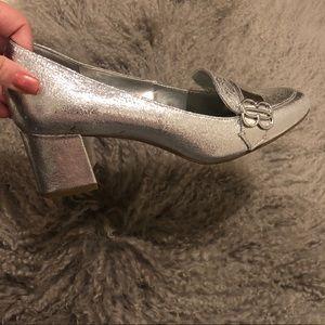 Bandolino block heel loafers